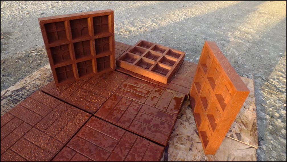 Полимер-песчаная тротуарная плитка