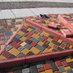 Особенности ремонта тротуарной плитки