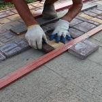 Как готовится основание для тротуарной плитки