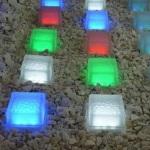 Для чего используется светодиодная тротуарная плитка