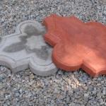 Фигурная плитка для укладки тротуара