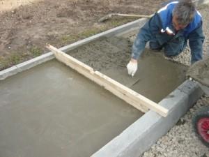 Ukladka na beton