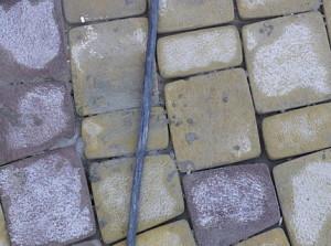 Vidy zagrjaznenij trotuarnoj plitki