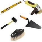 Инструменты необходимые для укладки тротуарной плитки