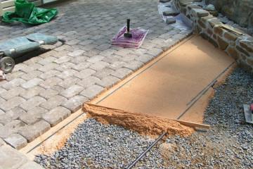Как подготовить основание для укладки плитки тротуарной