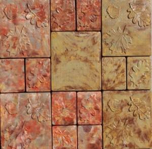 Полимербетонная художественная тротуарная плитка