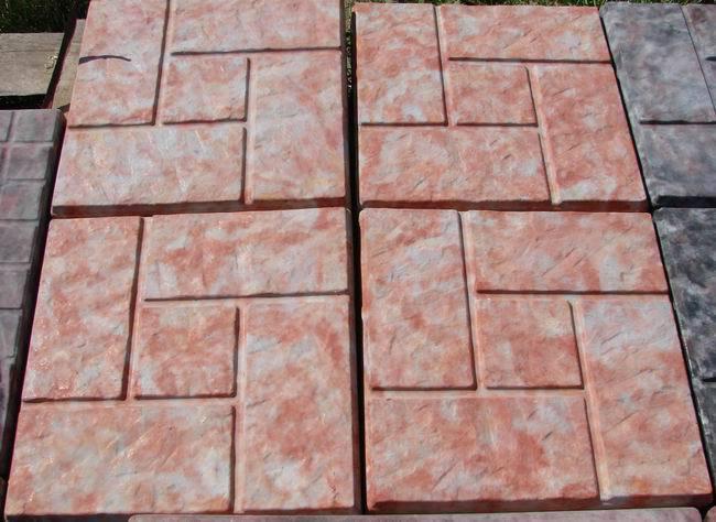 Тротуарная плитка из полимербетона