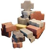 Вибропрессованная тротуарная плитка - основные характиристики материала