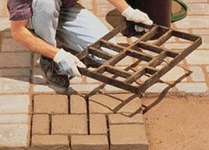 Как изготовить формы для тротуарной плитки своими руками