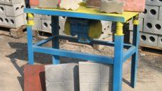 Как собрать вибростол для изготовления тротуарной плитки своими руками