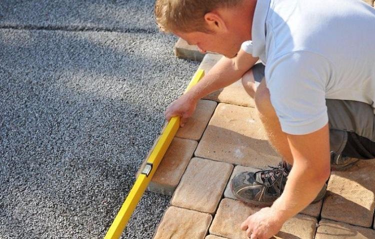 Расчет необходимых материалов при укладке тротуарной плитки своими руками