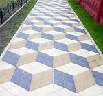 Рисунки укладки тротуарной плитки - описание самых популярных вариантов