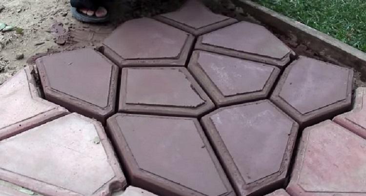 Что понадобиться для изготовления формы для производства тротуарной плитки
