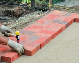 смесь для тротуарной плитки на бетонное основание
