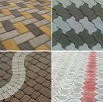 Технологія укладання тротуарної плитки на пісок